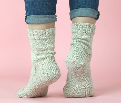 Paintbox simple sock knitting pattern