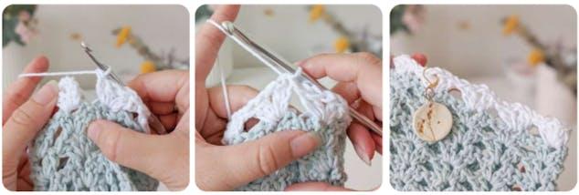 Crochet crop top 9