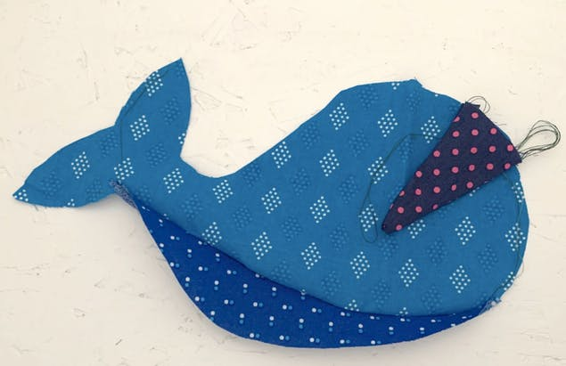 Narwhal sewing together