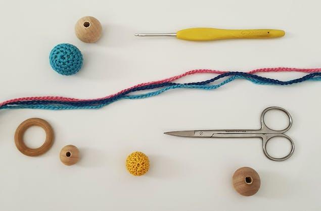 Materials for Making Crochet Beads