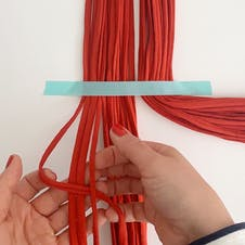 Step 2 macrame knot
