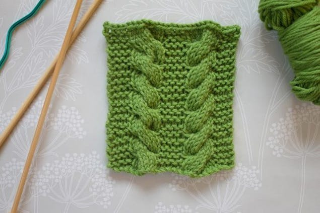 Learn to cable knitting