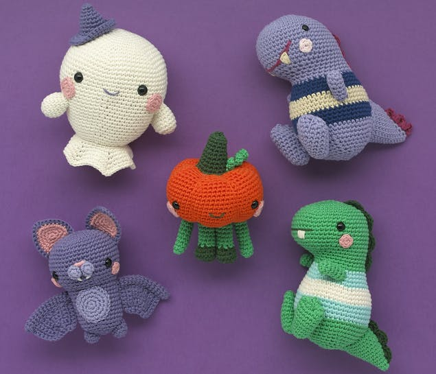 Halloween crochet projects from Paintbox Yarns