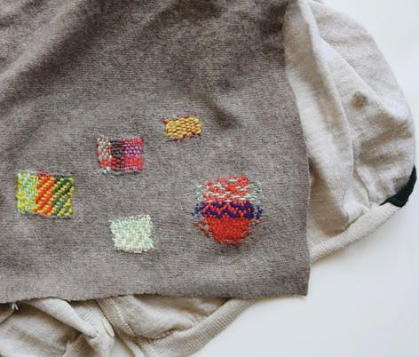 Darning by Bookhou