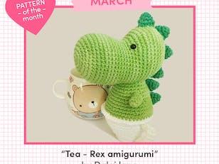 Tea - Rex amigurumi