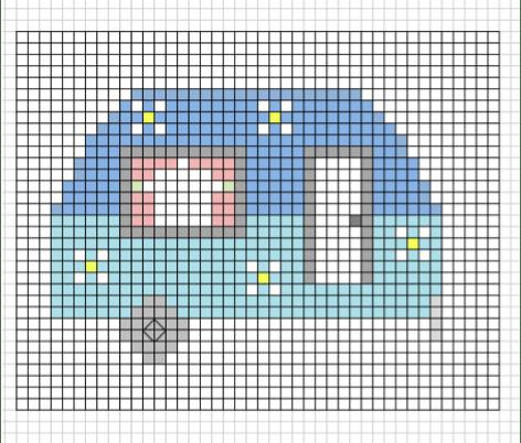 DIY Cross-stitch chart