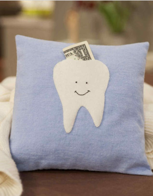 tooth fairy pillow sewing project for kids