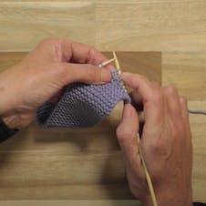 Eyelet buttonhole step 2