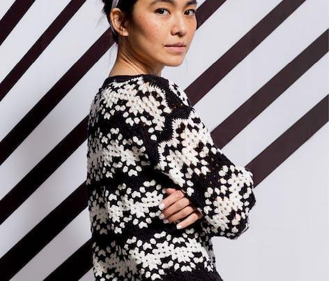 Movement Crochet jumper pattern
