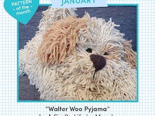 Walter Woo Pyjama / Hot Water Bottle Case / Novelty Cushion Cover