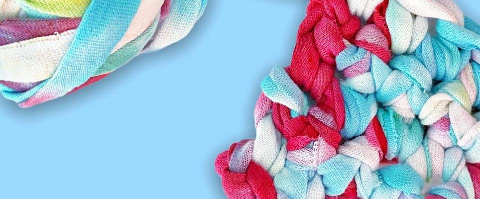 T-shirt yarn swatch