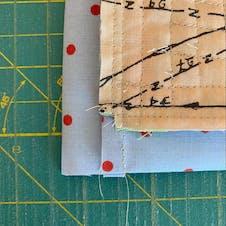 Log Cabin Quilt - Step 14