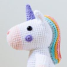 Sprinkle the amigurumi unicorn