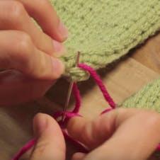 how to mattress stitch