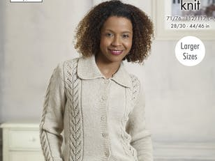 Sweater & Cardigan in King Cole Majestic DK - 5225 - Leaflet