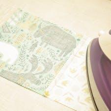 ironing quilt fabric