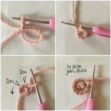 foundation chain for crochet star