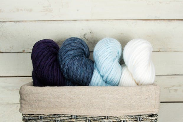Super chunky yarn weights