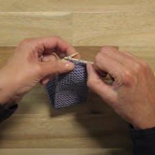 Eyelet buttonhole step 3