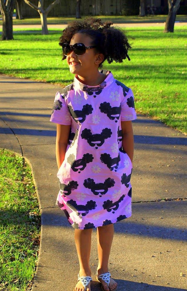 Bianca Springer Daughter's dress