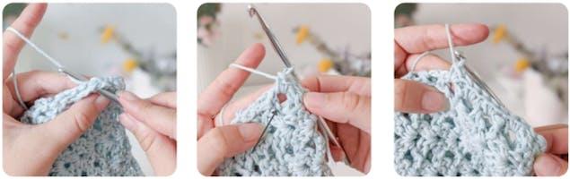 Crochet crop top 7