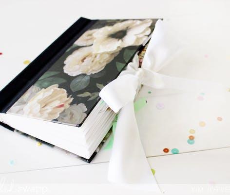 Magnolia wedding scrapbook
