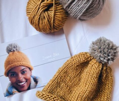 Learn how to knit a hat with circular needles