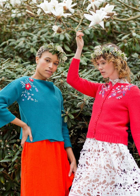 MillaMia Midsummer knitting and crochet pattern collection
