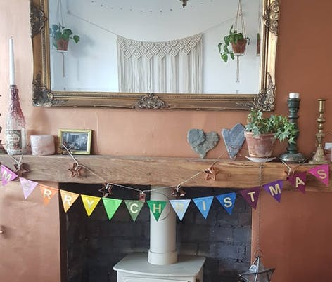 Christmas Paper Bunting