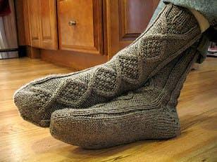 Handsome Men's Slipper Socks