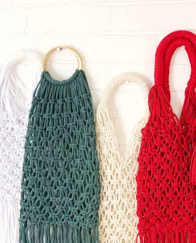 Make your own Macrame bag