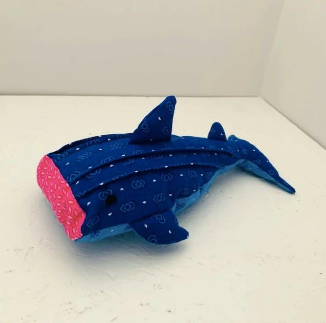 Learn how to sew a whale shark teddy