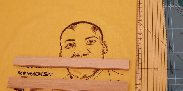 Martin Luther King Jr Embroidery