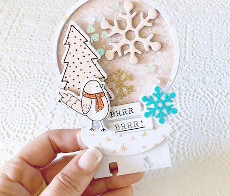 DIY Christmas Card by Rachel Lowe