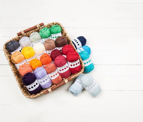 paintbox yarns in multi colours