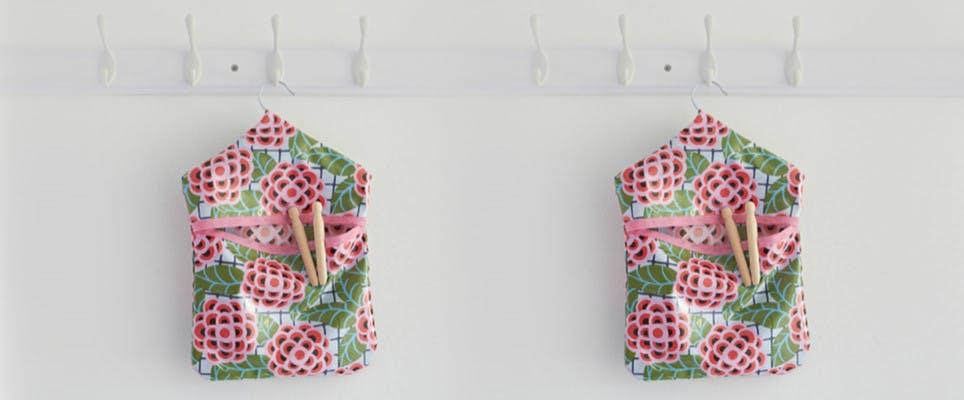 Peg bag sewing pattern