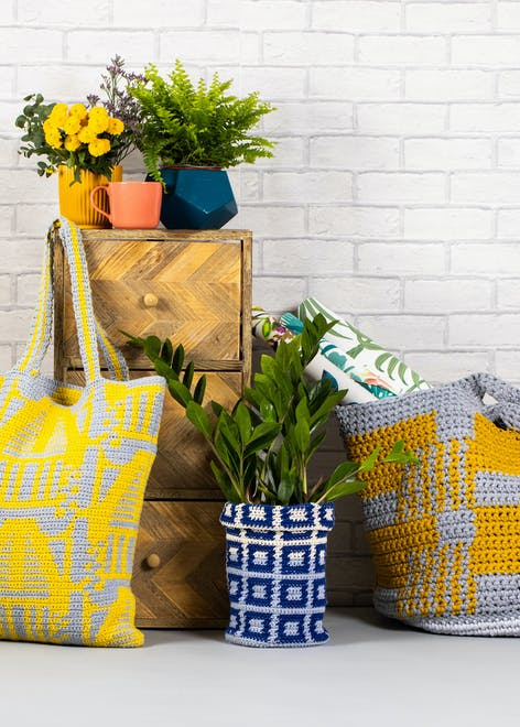 Tidy Haus pattern collection from Paintbox Yarns