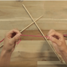 how to tie a slip knot step one