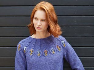 Lydia Sweater in Debbie Bliss Erin Tweed - DB276 - Downloadable PDF