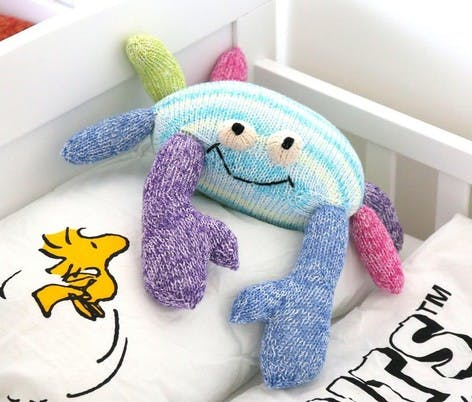knitted toy octopus pattern using ssk