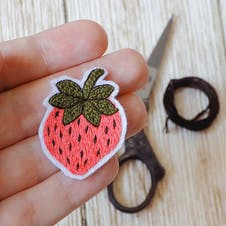 cut out embroidery patch