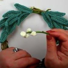Wreath step 2