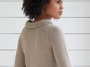 Dunwich Jumper - Knitting Pattern For Women in Debbie Bliss Aymara