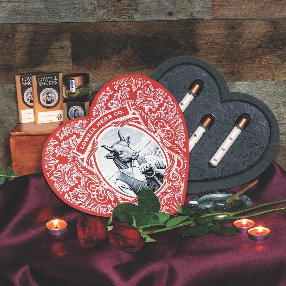 Lowell Valentine's Heart Box