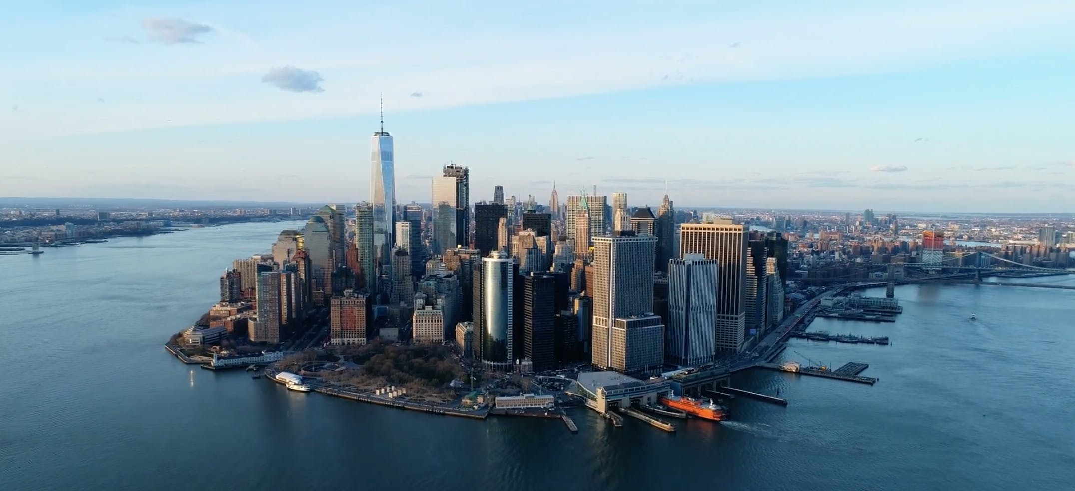 New York City by Drone