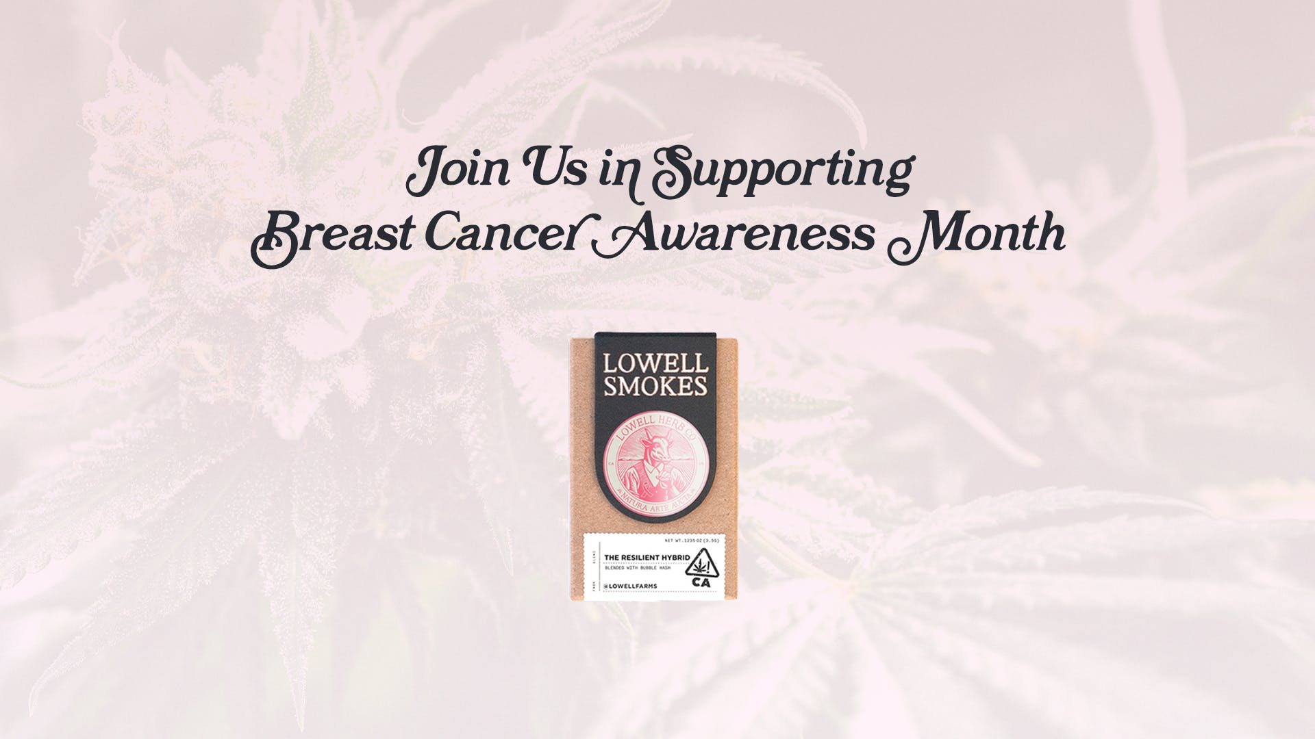 LIMITED-EDITION SMOKES PACK TO BENEFIT THE BREASTIES