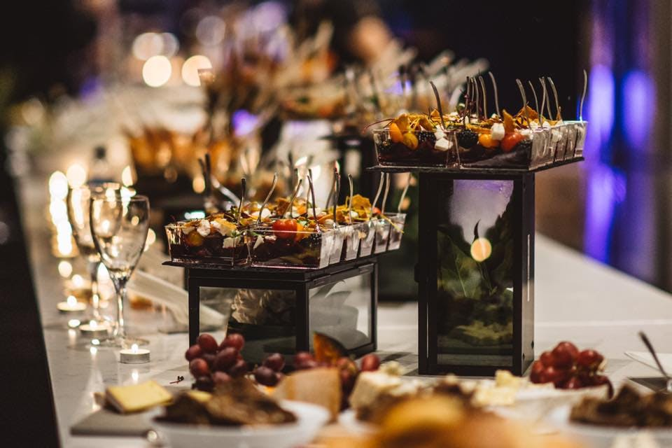 Lucille's Catering Table