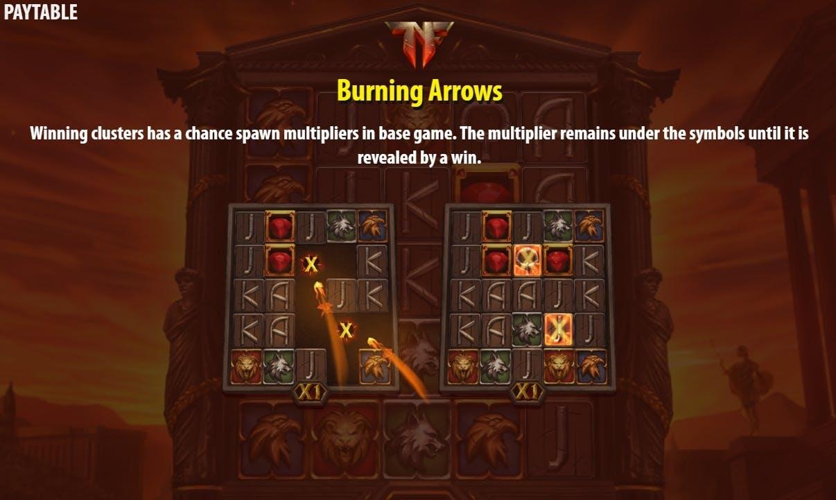 burning arrows nero's fortune