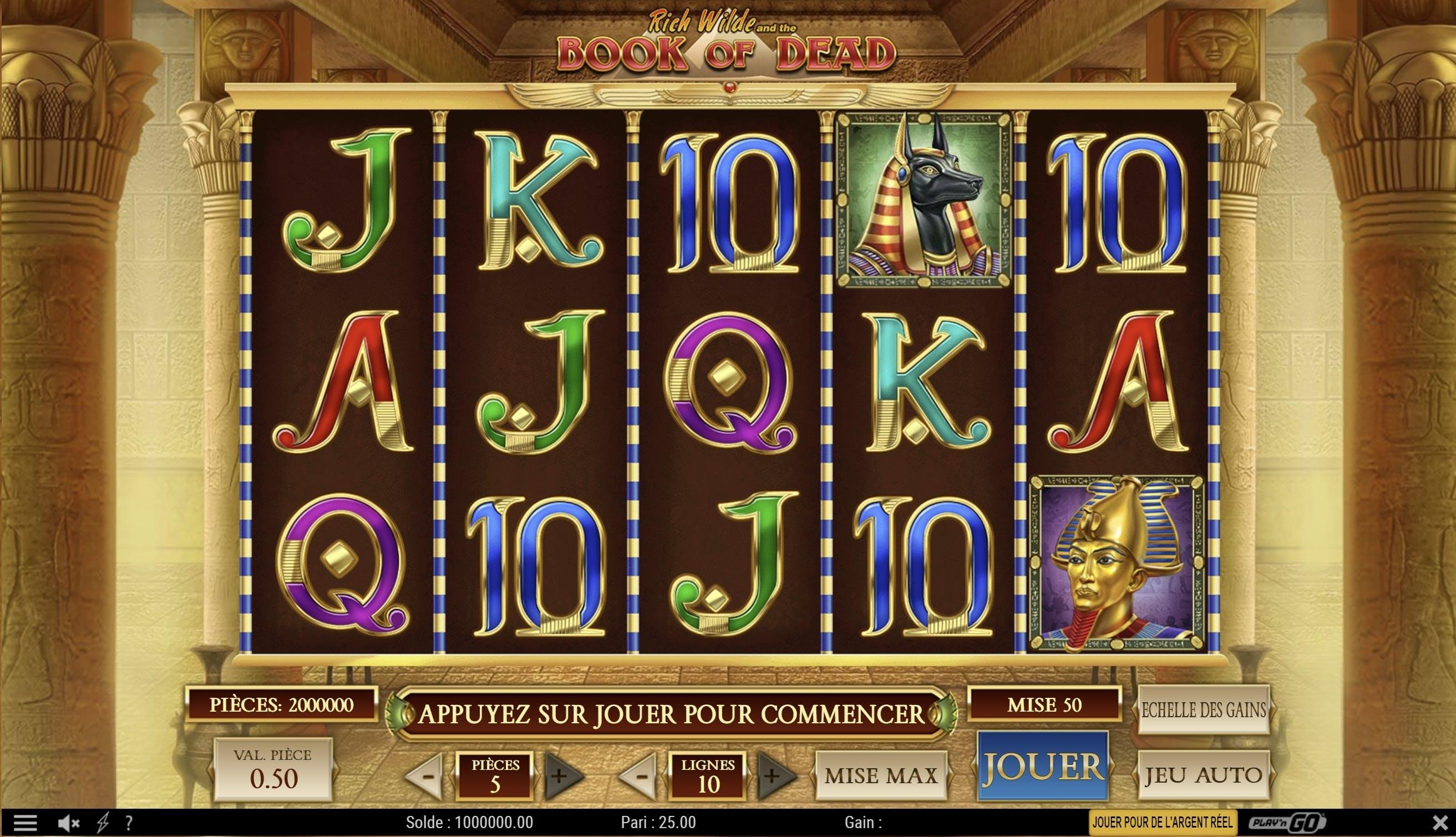 Casino Extra jeu gratuit