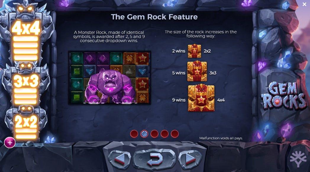 bonus gem rocks